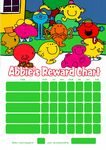 Personalised Mr Men Reward Chart (adding photo option available)